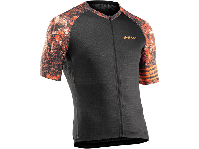 Northwave Blade Short Sleeve Jersey Men, noir/orange
